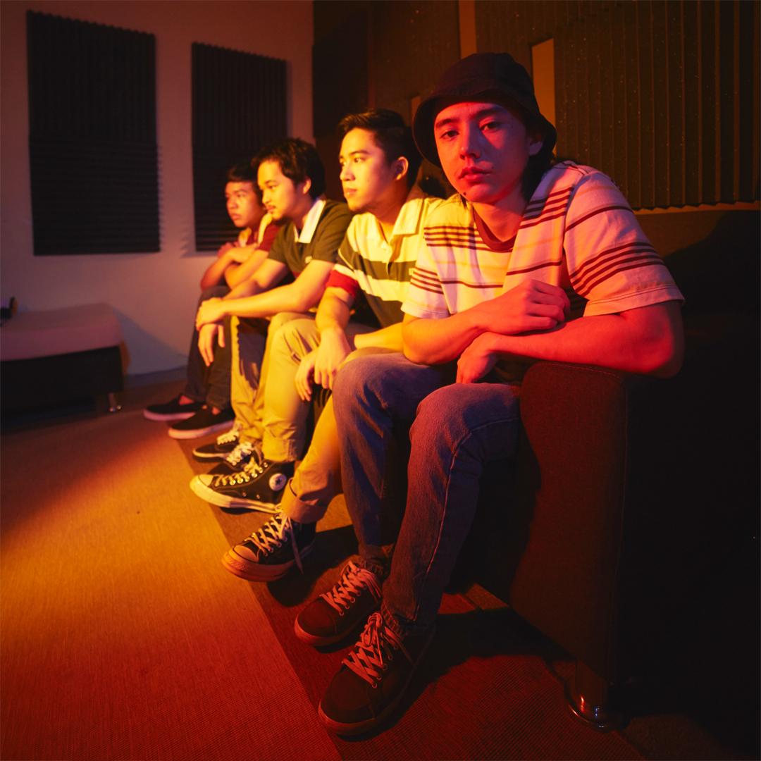 Group photo of Kyoto Protocol band members